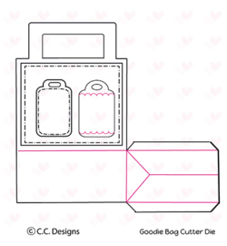 C.C. Designs snijmal CCC58 - Treat Bag Die