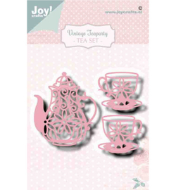 Joy!Crafts - Snijmal - Noor - Vintage Teaparty - 6002/1470