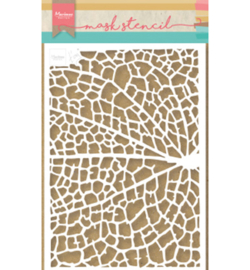Marianne Design - Stencil - Tiny's Leaf Grain - PS8041