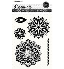Studio Light - stencil - Mask Doodle - Essentials nr.58 - MASKSL58