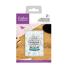 Crafters Companion - stempel - It's Beginning To Look - CC-CA-ST-BTL