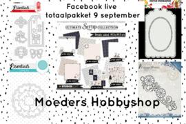 Facebook live - totaalpakket live 9 september