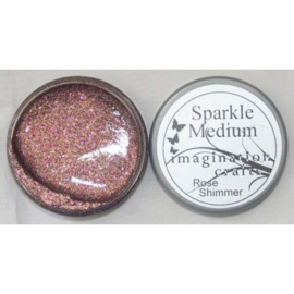 Imagination crafts - sparkle medium -  rose shimmer
