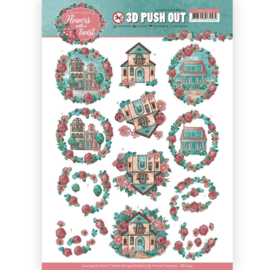 Yvonne Creations-3D Pushout - Living Flowers-SB10342