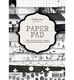 Studio Light papierblok A5, 36 vel, 12 patronen nr.109
