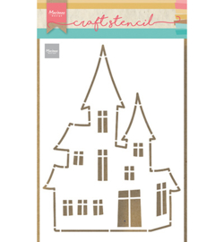 Marianne Design - Stencil - Haunted House - PS8075