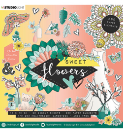 Stusio Light - Die Cut Book-  Sweet Flower nr.660- EASYSFL660