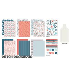 Dutch Doobadoo - crafty kit - sea bottom - 473.005.003
