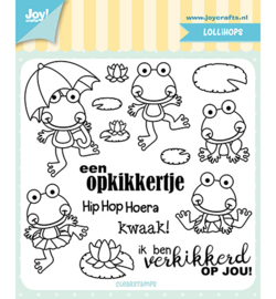 Joy!Crafts-Clearstempel Jocelijne - Opkikkertje-6410/0502