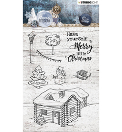 Studio Light - Stempel - Snowy Afternoon nr.399