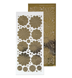 Leane Creatief 615862 - Sticker 7. mirror gold