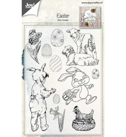 Joy!Crafts- 	Clear stempel - Pasen- 6410/0481