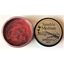 Imagination crafts - sparkle medium - strawberry jam