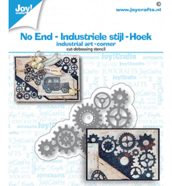 Joy!Crafts - Snijmal - NoEnd - Industrieel hoek - 6002/1473