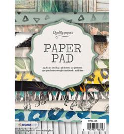 Studio Light papierblok A5, 36 vel, 12 patronen nr.105