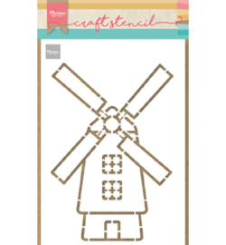 Marianne Design - Stencil - Windmill - PS8058