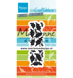 Marianne Design - Collectable - Punch die holly - CR1476