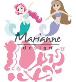 Marianne Design-Collectable-Mermaids-COL1467