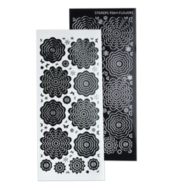 Leane Creatief 615831 - Sticker 4. black silver
