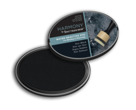 Spectrum Noir - Inktkussen - Harmony Water Reactive - Noir Black (Zwart)