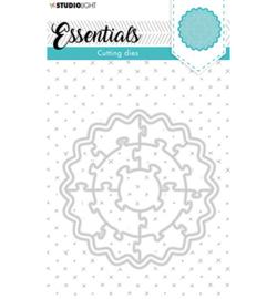Studio Light - snijmal -  Puzzle circle Essentials nr.75 - SL-ES-CD75