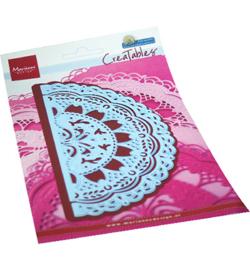 Marianne design - snij en embosmal - Petra's gate folding floral - LR0701