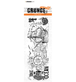 Studio Light - stempel -  Grunge Collection 4.0, nr.449 - STAMPSL449