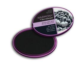 Spectrum Noir - Inktkussen - Harmony Quick Dry - Noir Black (Zwart)