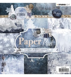 Studio Light - Papierblok - Snowy Afternoon nr.126