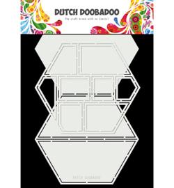 Dutch DooBaDoo - Card art - easel card hexagon - 470.713.850