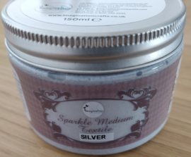 Imagination crafts - starlight texture paste - silver