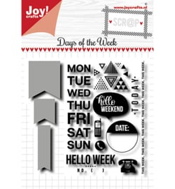 Joy!Crafts - Stempel - Days of the week - 6004/0036