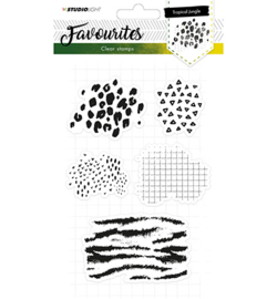Studio Light stempel A5, Favourites nr. 332