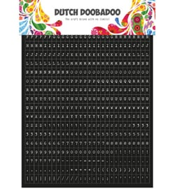 Dutch DoBaDoo - Sticker - Tekst - 491.200.002