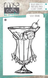 COOSA Crafts -clearstamps A7 - Sexy Drink - COC-066
