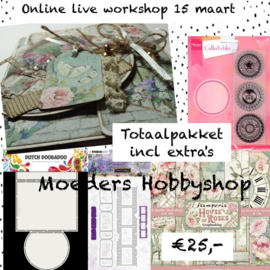 Online live workshop 15 maart