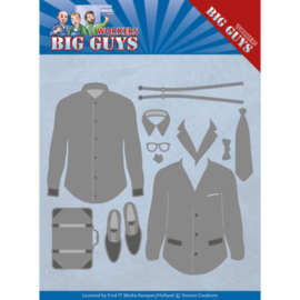 Yvonne creations - snijmal - Big Guys - Dressed to Impress - YCD10204