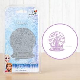 Disney -snijmal-Frozen Elsa Snowglobe- (DL014)