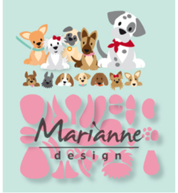Marianne Design COL1464 Collectable Eline's puppy