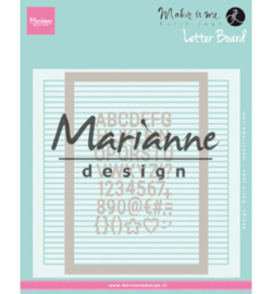 Marianne Design-Design Folder-Letter Board-DF3454