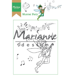 Marianne Design HT1643 Clear Stamp Hetty's Musical Fairy