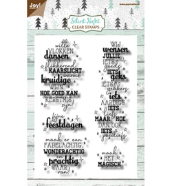Joy! Crafts - clear stempel - silent night - 6410/0537