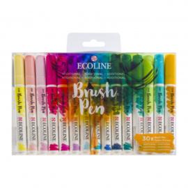 Ecoline - Brush pen - 30 stuks