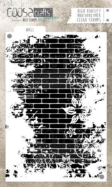 Coosa Crafts -clearstamps A6 - Wall COC-040