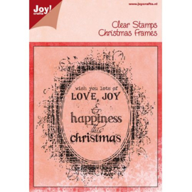 Joy!Crafts clear stamp kerst 6410/0115