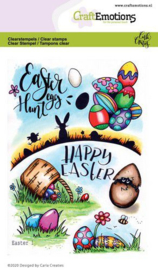 CraftEmotions - clearstamps A6 - Easter 1 - Carla Creaties -130501/1668