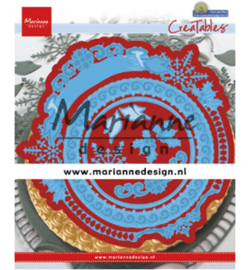 Marianne Design-creatbale Patra's winter circle-LR0627