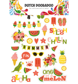 Dutch DoBaDoo - Paper Art - Summer - 474.007.008