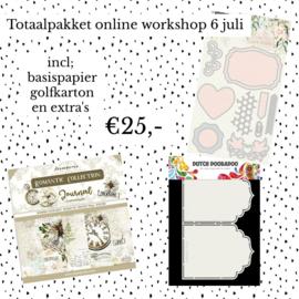 Online workshop 13 juli