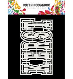 Dutch DooBaDoo - Card art - kerst - 470.713.812